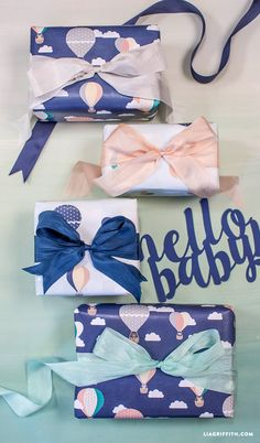 #babyshower #giftwrapping www.LiaGriffith.com:
