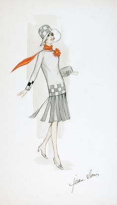 jean louis  sketch Thoroughly Modern Millie