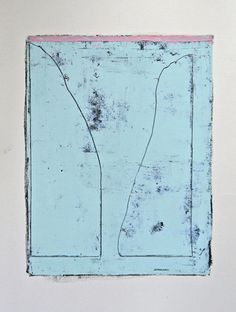 Jai Llewellyn : Untitled #6 Oil, oil based ink & graphite on paper, 2013