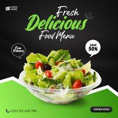 Food Graphic Design, Food Poster Design, Food Design, Social Media Art, Social Media Branding, Social Media Design, Nasi Bakar, Food Typography, Food Advertising