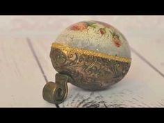 Decoupage krok po kroku - pisanka z reliefem (zwiastun) - YouTube