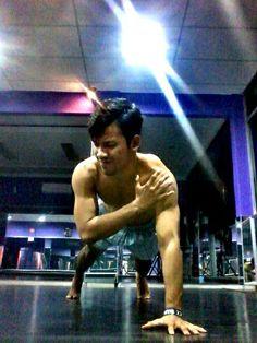 My workout.