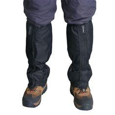 1 Pair Snow Gaiters Waterproof Walking Hunting Trekking Desert Snow Gaiters Item Type: Leg WarmersSport Type: CyclingModel Number: Name: FEELWINDMaterial: Nylon,PolyesterFabric Type: KnittedItem Length: BlackFunction: Polainas Senderismo Escalada