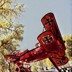 #redbaron #plane #adventureland