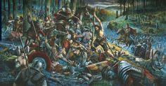 La masacre de las legiones de Varo (Teotuburgo)