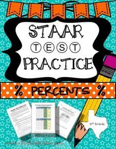 Staar test practice data analysis new teks grade 6 math from math 6th grade math staar test prep percents teks 64e 64f 64g 65b 65c fandeluxe Images