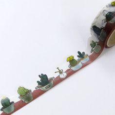 Japanese Washi Tape Cactus by WashiTapeManiac on Etsy