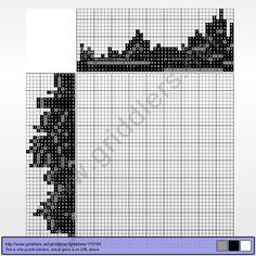 Griddlers Puzzle 179199 M.A.Bazovsky, Maly Bysterec, 1927
