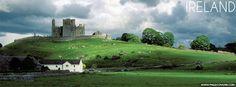 Rock Of Cashel Ireland Irish Facebook Cover