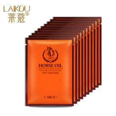 LAIKOU Horse Oil Miracle Mask adopts high-quality korean Deep repair skin 25g free shipping moisturizing repairing shrink pores #Affiliate