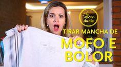 COMO TIRAR MANCHA DE MOFO E BOLOR | A DICA DO DIA COM FLÁVIA FERRARI