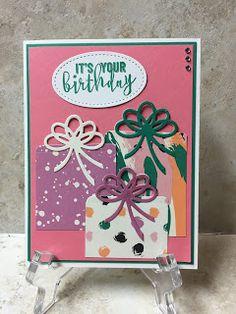 Stamp with Anna:  Stampin Up, Birthday Adventures, Birthday Pop Up, Birthday cards