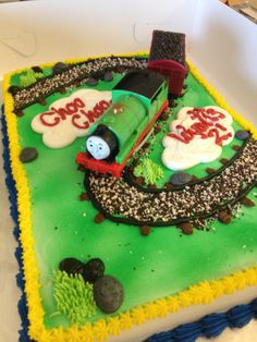 Thomas  the train cake by Karen's Kaykes