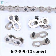 1ペアバイクチェーンマウンテンロードmtbバイクチェーンコネクタ用6/7/8/9/10スピードクイックリンク修復ツールパーツ自転車バイクチェーン