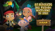 JAKE y los Piratas de Nunca Jamas - La búsqueda de tesoro nocturna - SUSCRIBETE / SUBSCRIBE https://www.youtube.com/user/DISNEYWORLDES