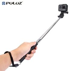 PULUZ Universal Portable Selfie Stick Hand Held Extendable Adjustable Multi-angle For Taking Photos For GoPro/Sjcam/XIAOYI #Affiliate