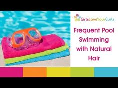 WATCH for the lesson in why wetting your hair BEFORE swimming created a protective barrier! ♥ 45 ♥ Swimming With Natural Hair - Protecting Hair at the Pool