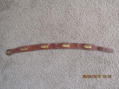 Hermes Paris Ladies Leather Belt   eBay