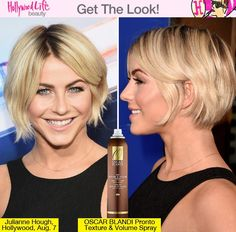Julianne Hough's Bob — How To Get Her Effortless, Chic 'Do - Hollywood Life