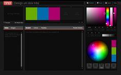 Crie sua paleta de cores ou peça ajuda em grupos de discussão