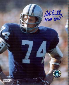 Bob Lilly - Born in Olney, Texas. Defensive tackle for the Dallas Cowboys and photographer. He was inducted into the Pro Football Hall of Fame in 1980.