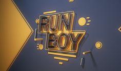 Run Boy Run on Behance