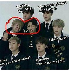taehyung meme List of 34 best Funny Bts in - memes Bts Memes Hilarious, Bts Funny Videos, Bts Meme Faces, Funny Faces, Memes Humor, V Chibi, Vkook Memes, Bts Funny Moments, Foto Baby