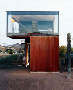 Articles about 8 modern desert homes. Dwell is a platform for anyone to write about design and architecture. Cantilever Architecture, Amazing Architecture, Interior Architecture, Interior Design, Building Architecture, Modern Interior, Interior Decorating, Container Buildings, Container Architecture