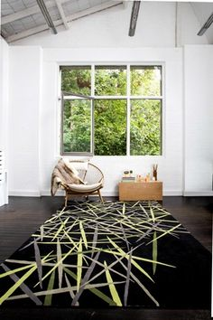 Pick Up Sticks, part of the Bleux Neighbourhood collection from Designer Rugs.