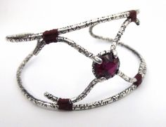 Faceted Rubelite Bracelet