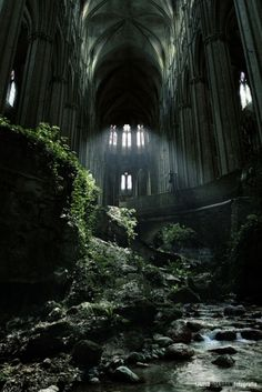 Something about abandoned places draws people in, but it's a haunting feeling.