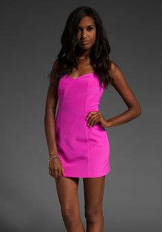 Neon Pink Dress From RevolveClothing.com