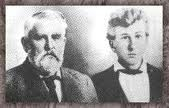 "Charles Goodnight & Oliver Loving... The real ""Lonesome Dove""."