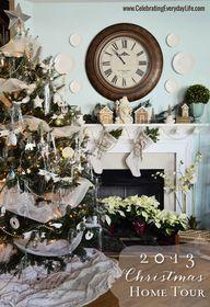 Christmas Mantel - The Lilypad Cottage