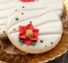 ruch poinsettia, christma cooki, cookie icing, christmaswint cooki, snowman cupcakes