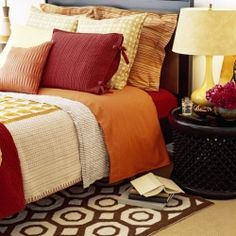 love the colors for a guest room