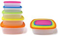 10pcs. Fiesta Rectangular plastic storage Case Pack 24