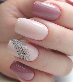 Classy Nails, Stylish Nails, Simple Nails, Cute Nails, Pretty Nails, Manicure Nail Designs, French Manicure Nails, Acrylic Nail Designs, Nails Design