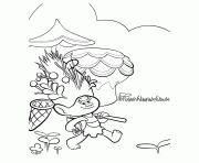 Print Smallest Troll Smidge coloring pages | Troll party ...