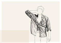 Shirt, sketchbook - Lindsay Lombard
