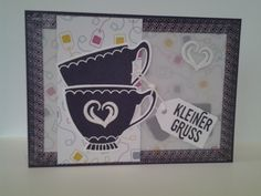Stampin Up - A nice Cuppa / vollkommene Momente.