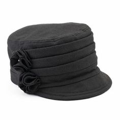 SONOMA life + style Pleated Felt Worker Hat