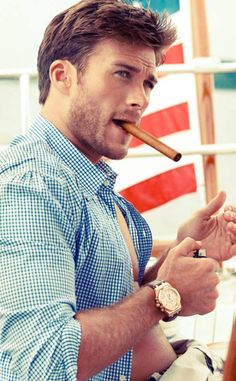 Scott Eastwood's photoshoot is...mind blowing.