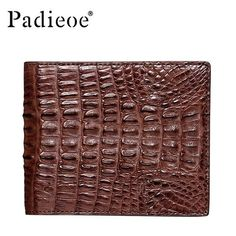 Luxury Wallet of Real Crocodile Skin Man Clutch, Best Leather Wallet, Crocodile Skin, Designer Wallets, Luxury Branding, Mens Fashion, Free Shipping, Business, Fashion Wallet