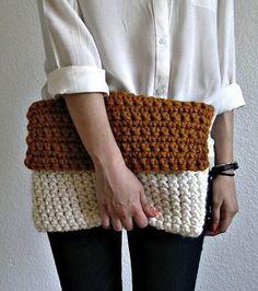 Crochet bag by deroucheau