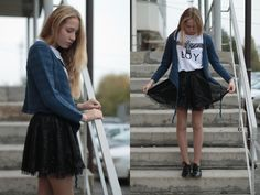 Hand Made Sweather, Reserved  Skirts, Shirt, Shoes