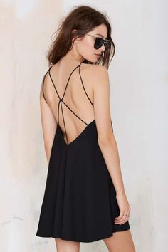 The Drinks on Me Strappy Slip Dress is seriously going to be your go-to LBD all summer.