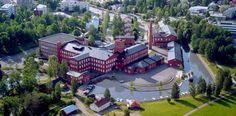 Cotton Mills area, Forssa. There are museums and art exhibitions displaying the history and traditions of both the town and the region. And HAMK campus, of course.