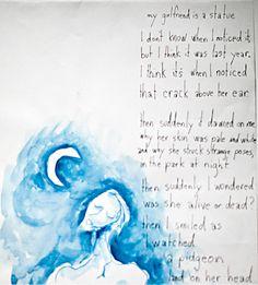tim burton art poems monster - Hledat Googlem