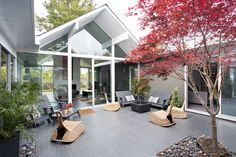 Klopf #Architecture have recently completed the remodel of a family #home in Burlingame, California.